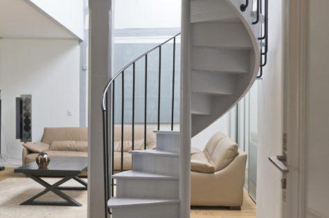 Wendeltreppe für ein Appartement