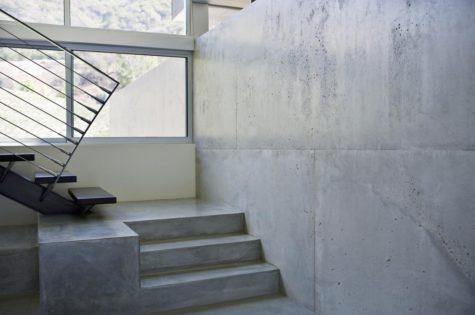 Betontreppe für ein modernes zuhause