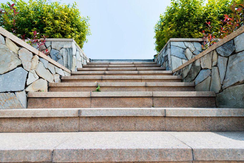 Steintreppe für Aussen