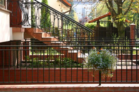 Treppengeländer für den Aussenbereich
