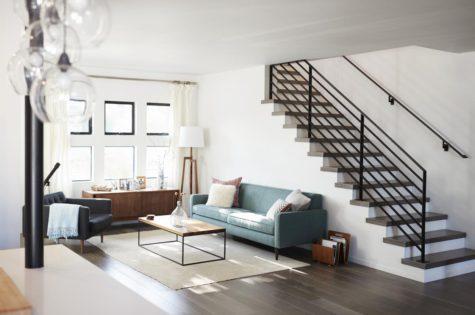 Treppe für moderne Wohnung