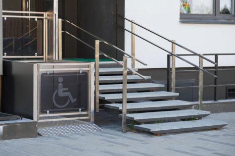 Hebelift für Rollstühle