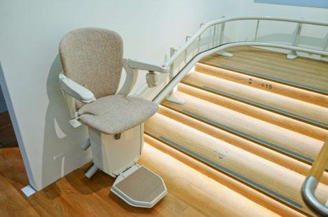 Sitzlift für Innentreppe