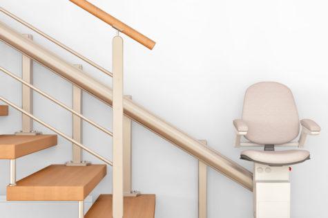Moderner Sitzlift